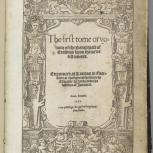 Thumbnail for The First Tome or Volume of the Paraphrase of Erasmus vpon the Newe Testament