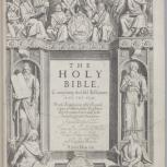 Thumbnail for The Holy Bible, Conteyning the Old Testament and the New...