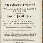 Thumbnail for The Depositions and Examinations of Mr. Edmund Everard... (Online exclusive)